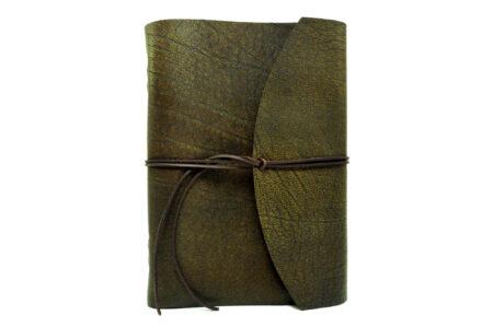 Vickys World Lederbuch Buffalo Crust Raw - DIN A4