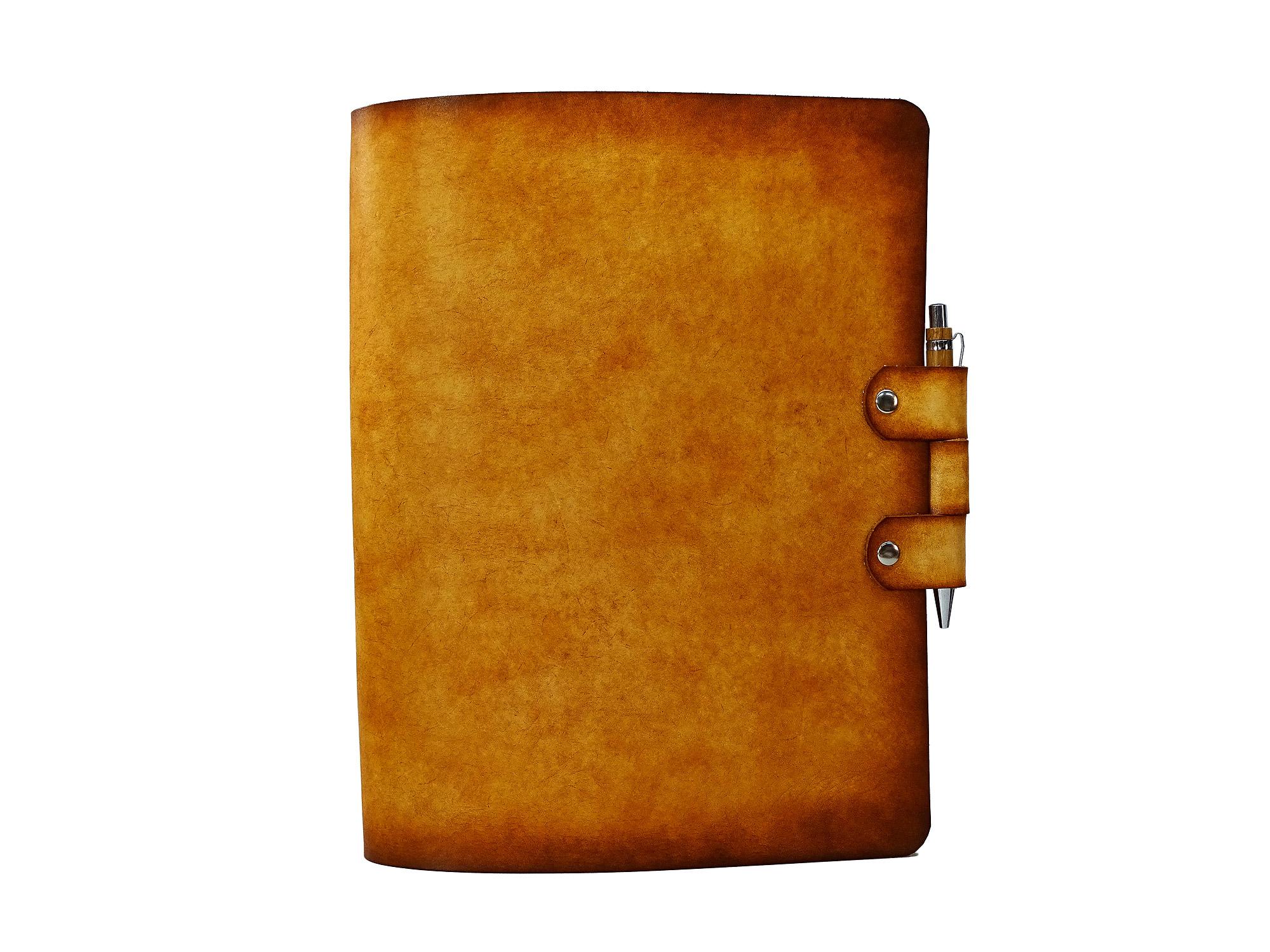 Leder Ringbuch Ordner OX Office PaperJail Antique Lion – Din A4