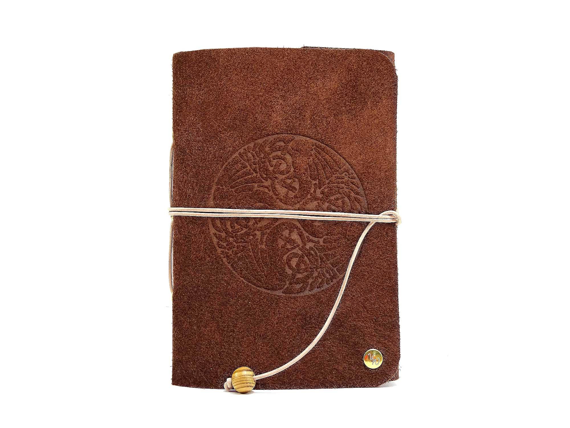 Leder Buch Travel Memory Bamby Celtic Birds – A6 – Vickys World